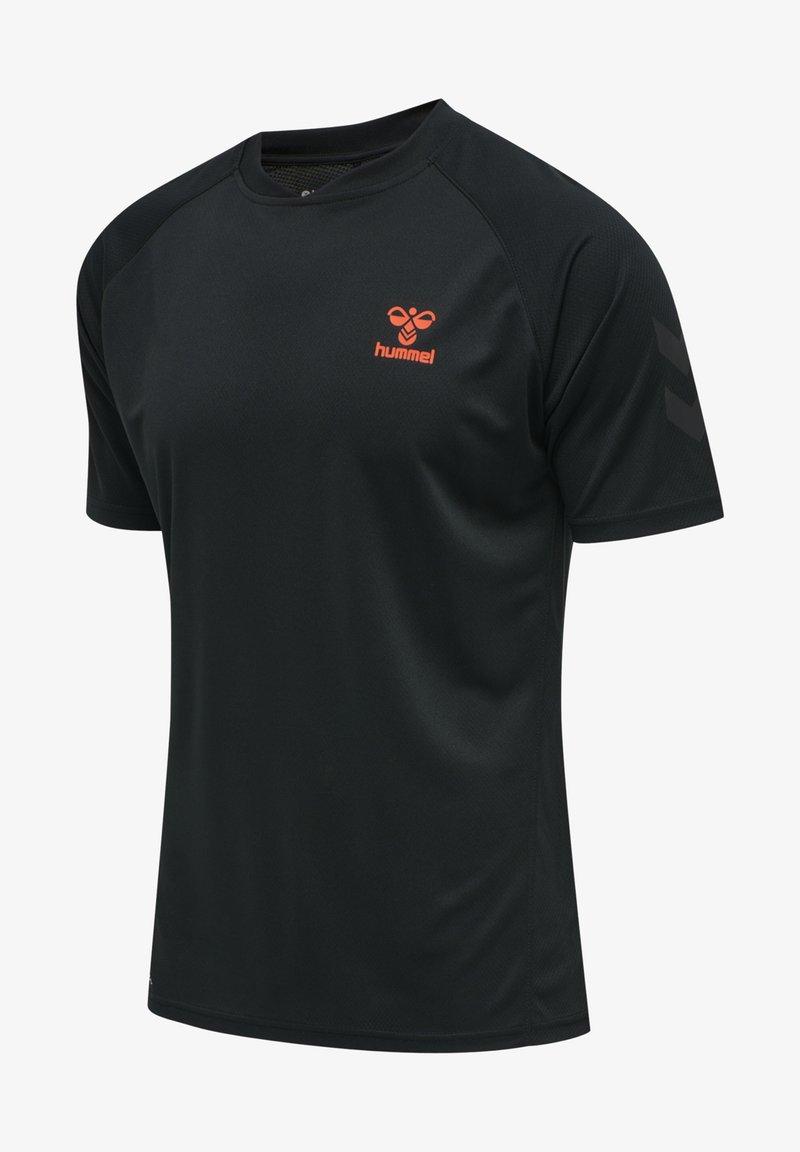 Hummel - Print T-shirt - schwarz