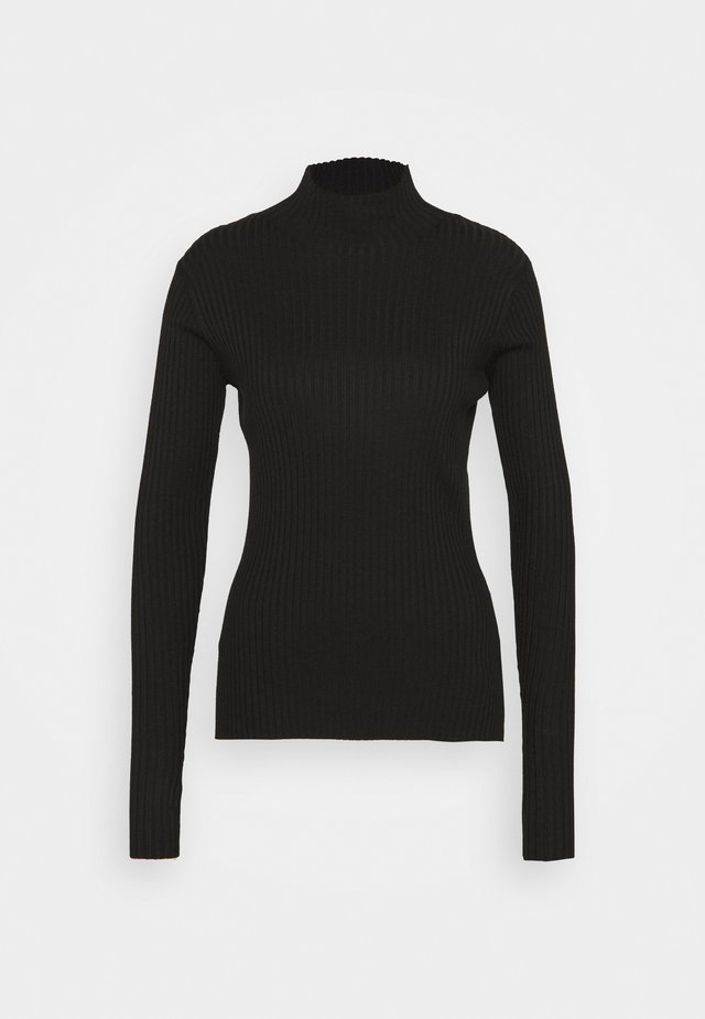 EBO TOP - Strickpullover - black