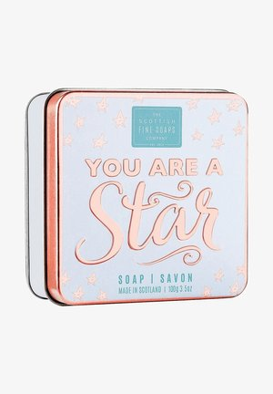 YOU ARE A STAR SOAP IN A TIN 100 G - Soap bar - weiß