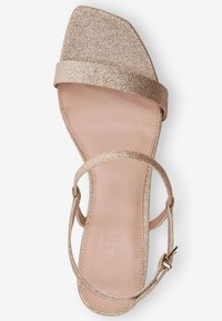 Next - High heeled sandals - gold - 1