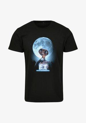 FACE - T-shirt print - black
