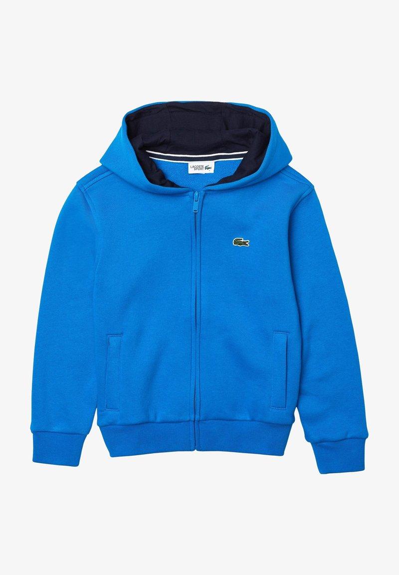 Lacoste Sport - TENNIS - Zip-up hoodie - bleu / bleu marine