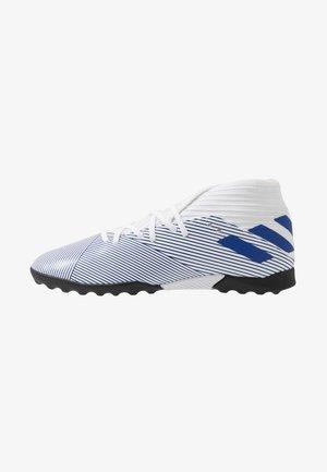 NEMEZIZ 19.3 TF J - Kopačky na umělý trávník - footwear white/royal blue