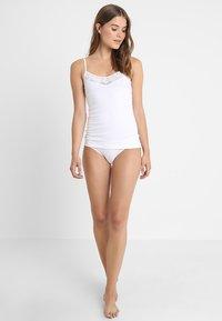 Skiny - DAMEN SPAGHETTISHIRT - Undershirt - white - 1