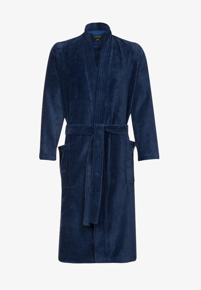 LAGO  - Dressing gown - nachtblau