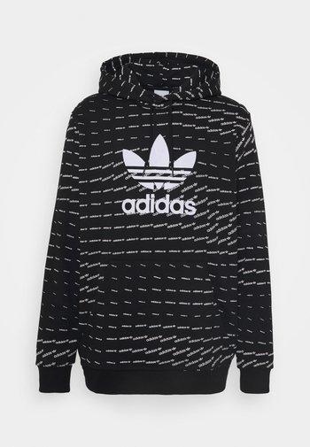 MONO HOODY - Sweatshirt - black/white