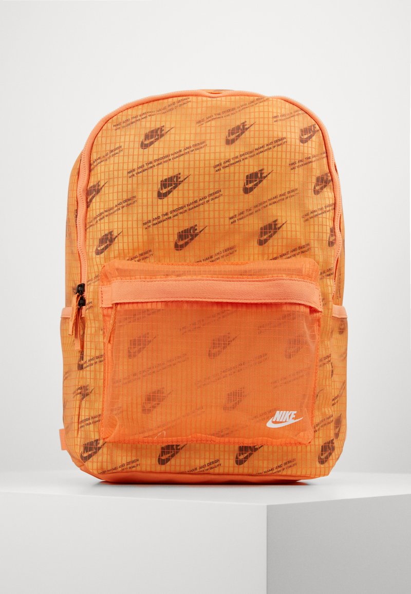 Nike Sportswear - HERITAGE  - Rucksack - orange frost/melon tint/white