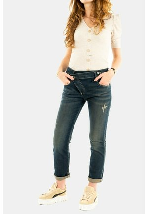 Straight leg jeans - bleu