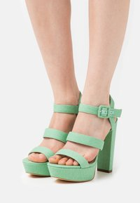Guess - RAYONA - High heeled sandals - mint - 0