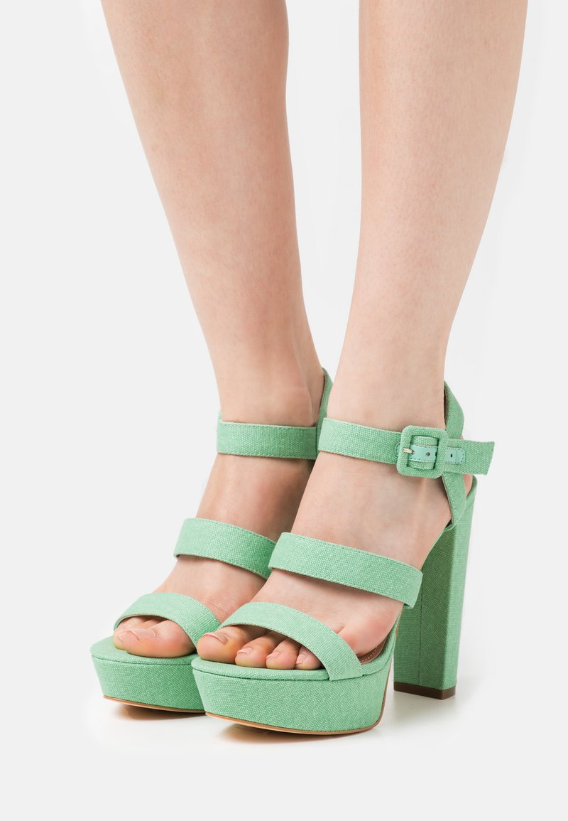 Guess - RAYONA - High heeled sandals - mint
