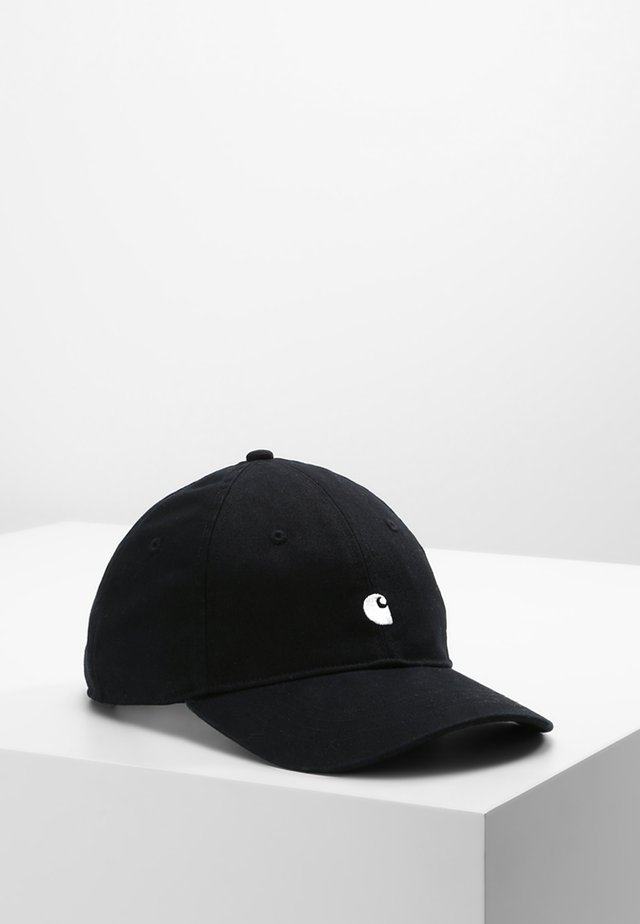 MADISON LOGO UNISEX - Lippalakki - black/white