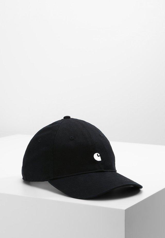 MADISON LOGO UNISEX - Cap - black/white