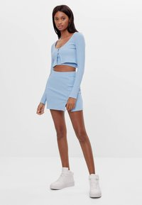 Bershka - Cardigan - light blue - 1