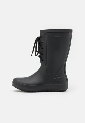 RETRO LOGG - Wellies - black