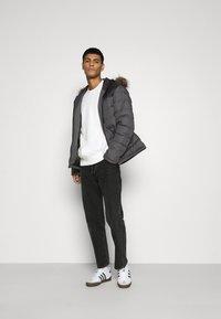 Brave Soul - INVERNESS - Winter jacket - black/grey - 1