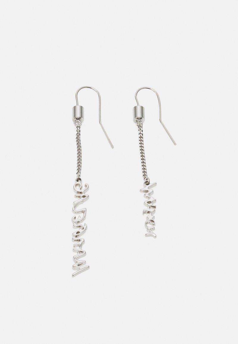 MM6 Maison Margiela - EARRINGS - Earrings - silver-coloured
