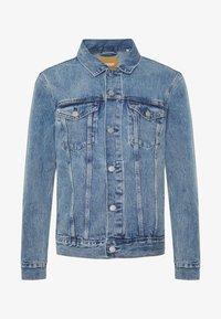 Weekday - SINGLE JACKET - Kurtka jeansowa - blue medium dusty - 4