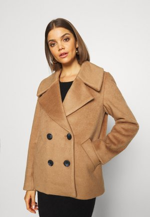 PCSAXONA JACKET - Classic coat - toasted coconut