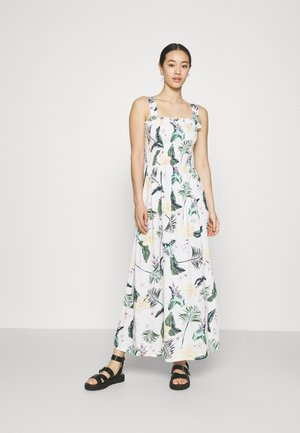 UP IN THE FLAMES - Maxi dress - snow white
