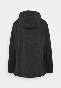 CMP - WOMAN JACKET FIX HOOD - Fleecejakke - nero - 1