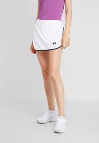 Lotto - SQUADRA SKIRT - Sportovní sukně - brilliant white - 0