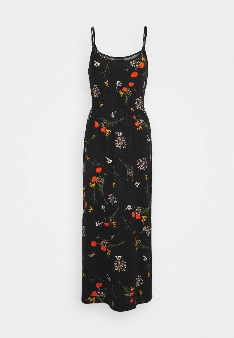 Even&Odd - Maxi dress - black/multicolor