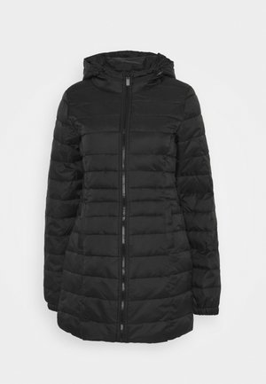 ONPTAHOE HOOD LONG - Short coat - black