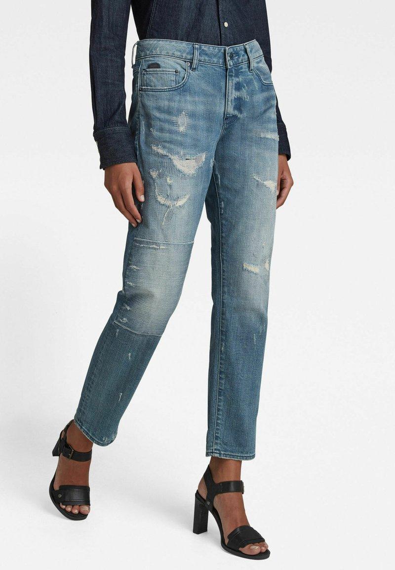 G-Star - KATE BOYFRIEND - Straight leg jeans - light blue
