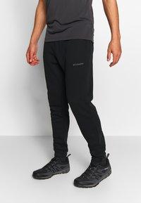 Columbia - LOGO JOGGER - Spodnie treningowe - black/city grey - 0