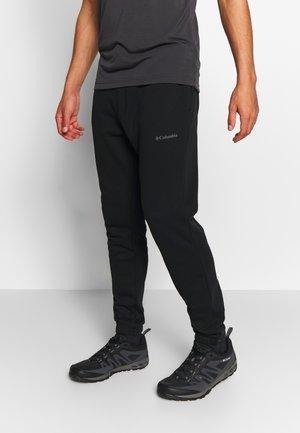 LOGO JOGGER - Teplákové kalhoty - black/city grey