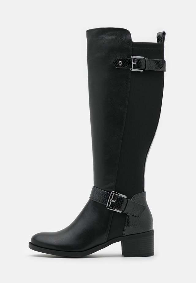 KABBY KNEE HIGH BOOT - Laarzen - black