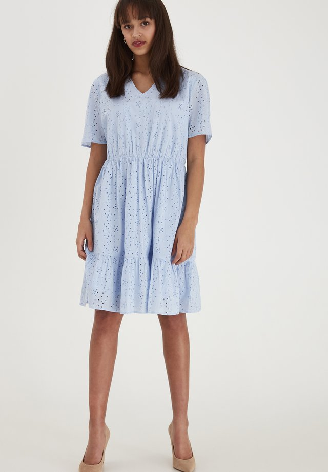 FRJABRO 1 DRESS - Sukienka letnia - brunnera blue