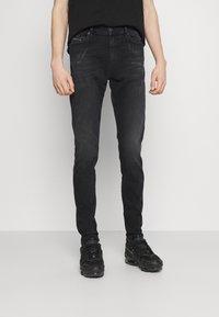 Diesel - D-ISTORT-X - Jeans Skinny Fit - black denim - 5