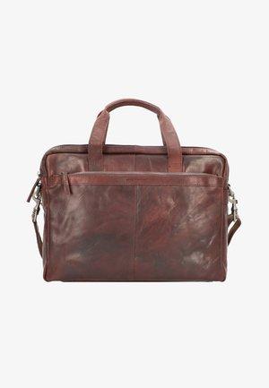 Briefcase - darkbrown