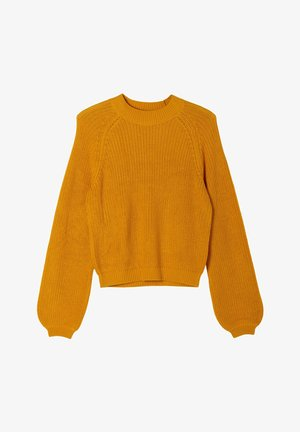 SOFTER - Trui - yellow knit