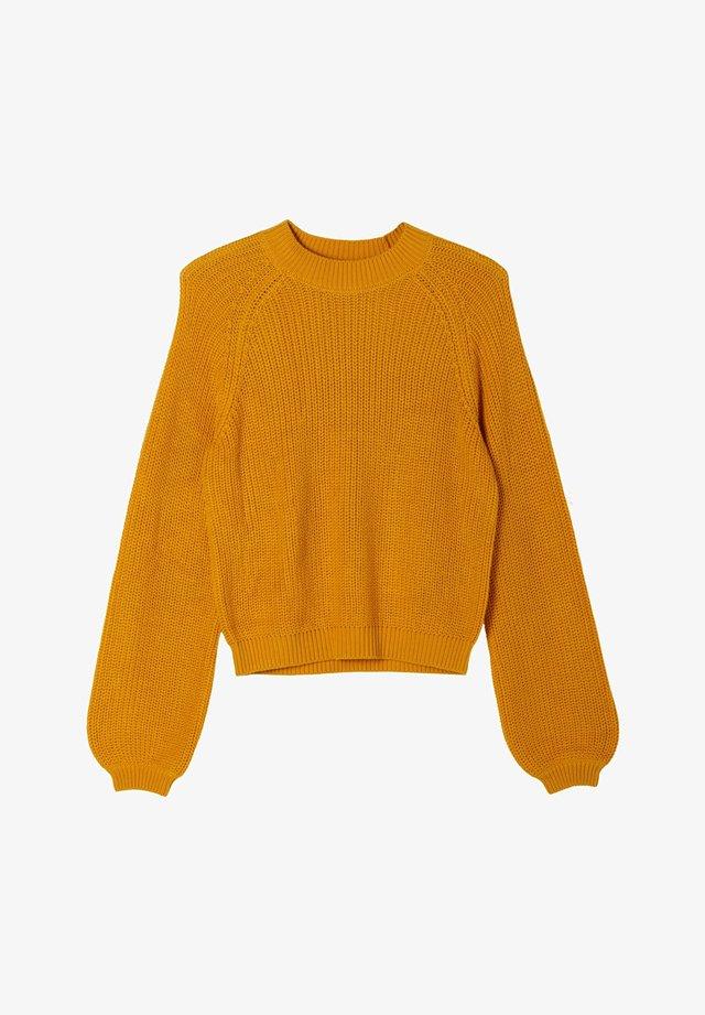SOFTER - Trui - yellow knit