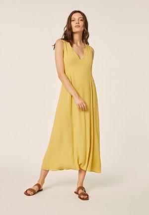 Korte jurk - citron