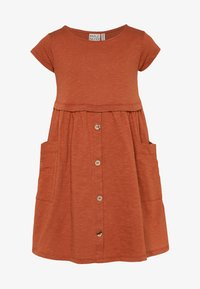 Mainio - Jersey dress - bombay brown - 0