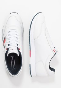 Tommy Hilfiger - CORPORATE FLAG RUNNER - Sneakers - white - 1