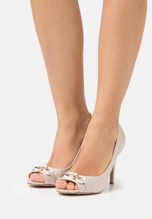 CHURCH - Peep toes - beige