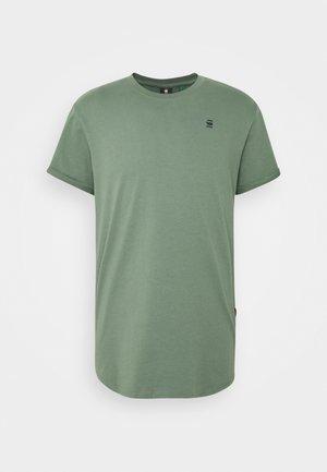 LASH R T S\S - Basic T-shirt - teal grey