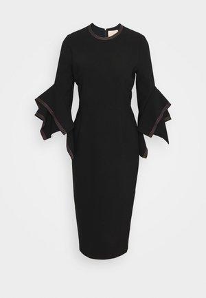 RONDA  - Shift dress - black/rose