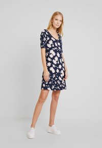 TOM TAILOR - DRESS BASIC - Day dress - navy - 1