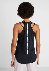 Under Armour - SPORT TANK - Camiseta de deporte - black/white - 2