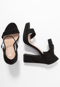 New Look - SNOWZ - Sandales à talons hauts - black - 3