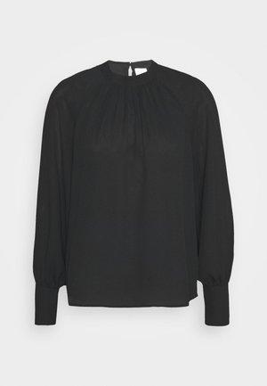 VILUCY BALLON SLEEVES CAMP - Pitkähihainen paita - black