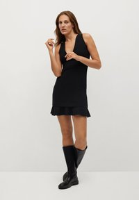 Mango - LAURA-I - Day dress - noir - 1
