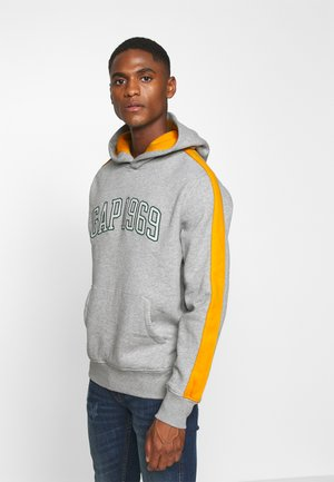 RACER LOGO - Hoodie - grey heather