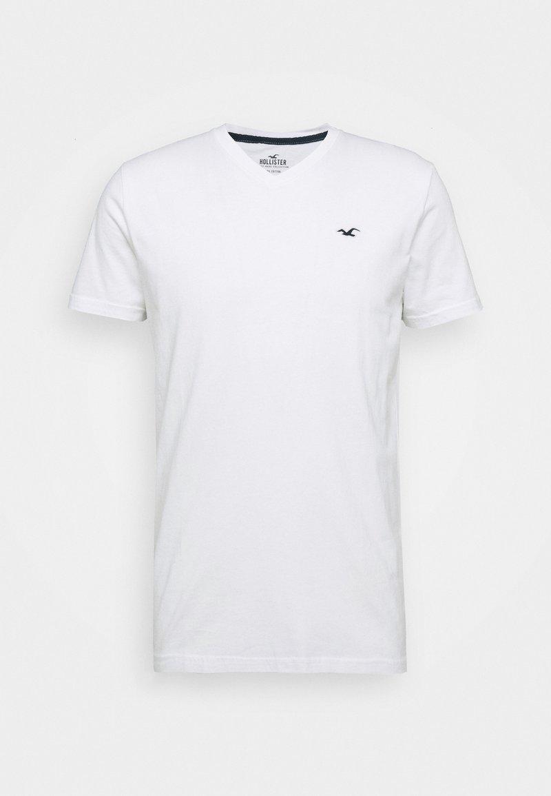 Hollister Co. SOLIDS - T-Shirt basic - black/schwarz 1cCki5