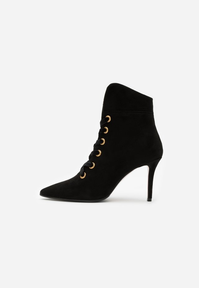 LUISA  - Kotníková obuv na vysokém podpatku - nero